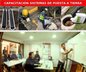 Curso de Sistemas de Puesta Tierra Ecuador