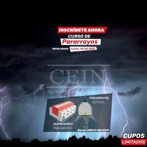 curso sistemas de Descargas Atmosfericas Ecuador